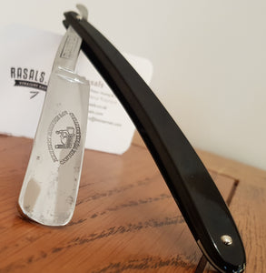 "Restored 11/16"" wide Sheffield made razor by Herbert Robinson & Co"