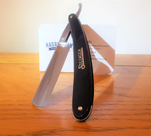"A restored vintage Solingen made 5/8"" Hollow Ground  razor by Muller."