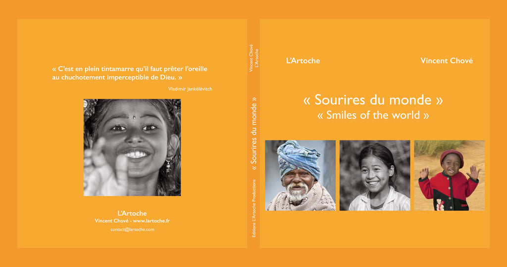 "Livre de Photographies ""Sourires du monde / Smiles of the world"""
