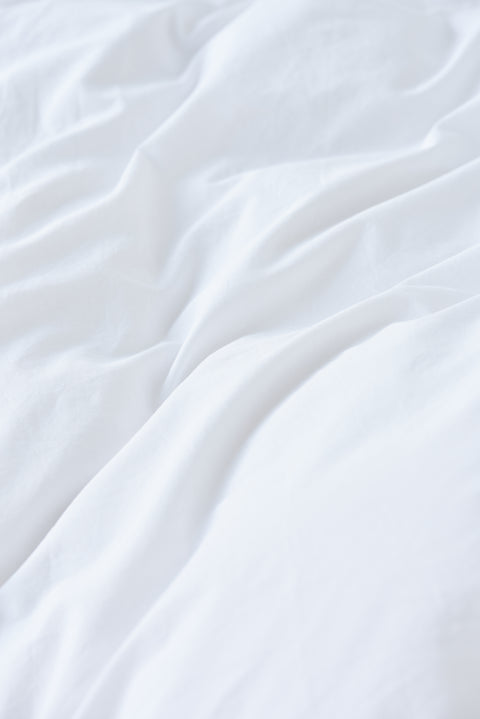 Organic Cotton Pillow Sham — Broken White