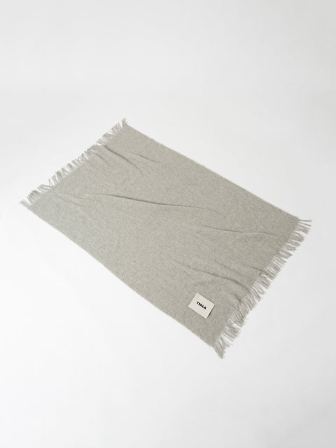 Wool Blanket — Grey Melange