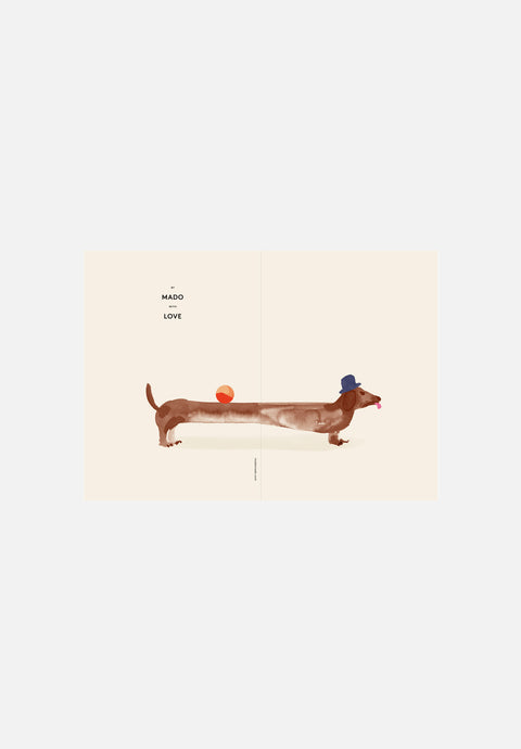 Doug the Dachshund — Greeting Card
