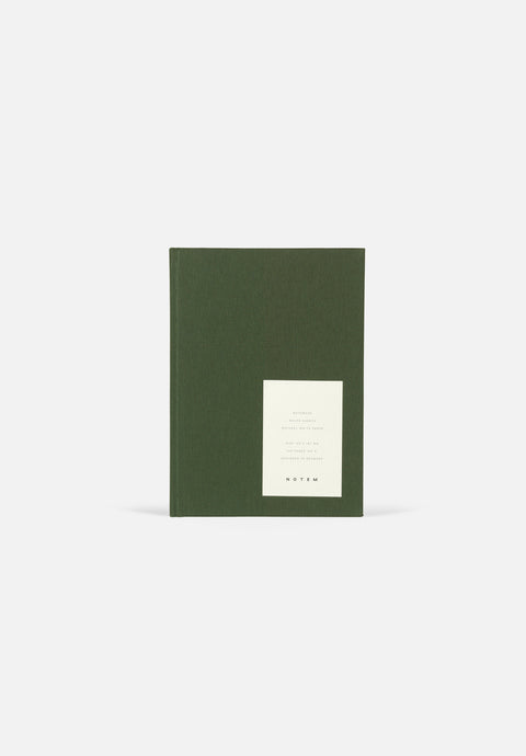 EVEN Notebook — Medium Forest Green