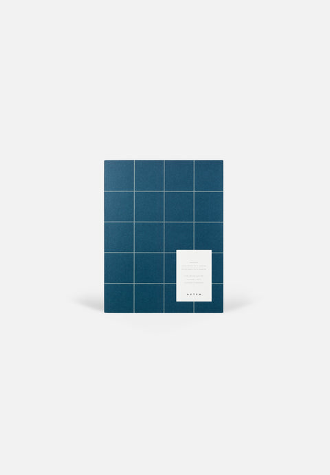 UMA Notebook — Blue, Blank + Lined Sheets