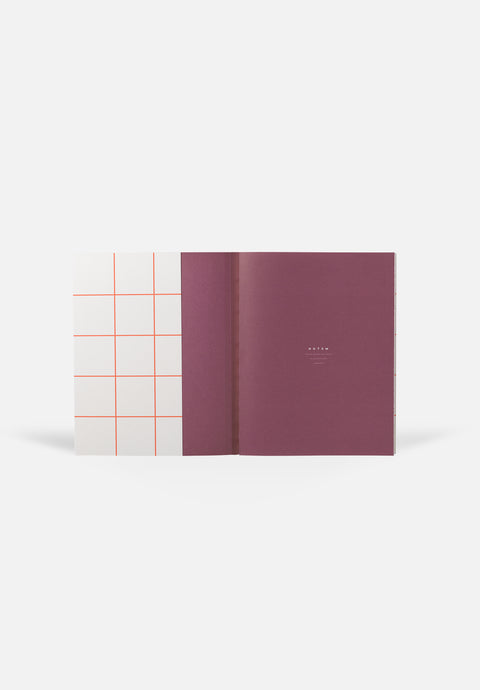 UMA Notebook — Grey, Blank + Lined Sheets