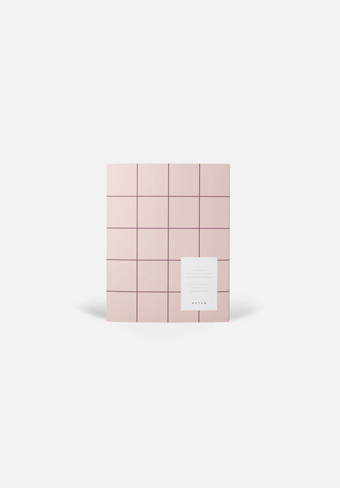 UMA Notebook — Rose, Blank + Lined Sheets