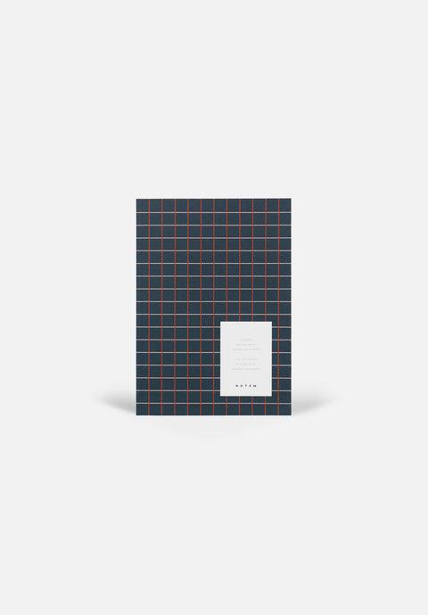 VITA Medium Notebook — Dark Blue, Dotted Sheets