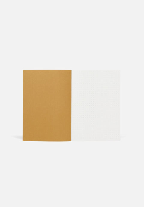 VITA Medium Notebook — Ochre, Dotted Sheets