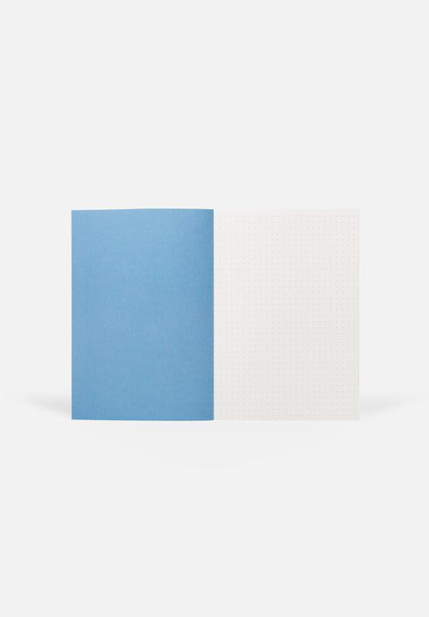 VITA Medium Notebook — Blue Lines, Dotted Sheets