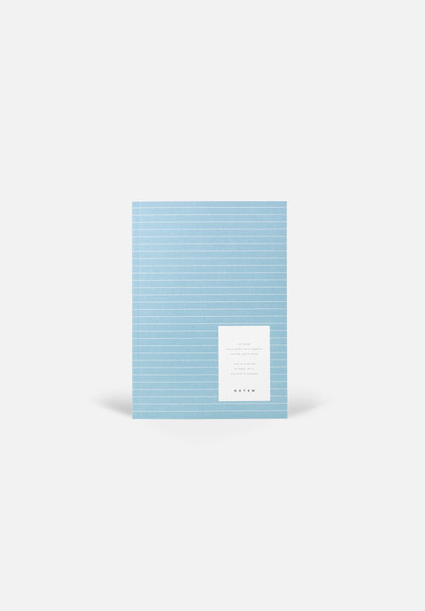 VITA Medium Notebook — Steel Blue, Blank Sheets