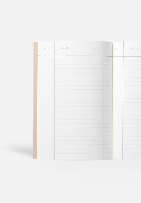 VITA Small Notebook — Anthol Blue, Lined Sheets