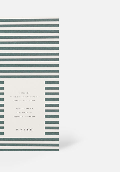VITA Small Notebook — Dark Green, Lined Sheets