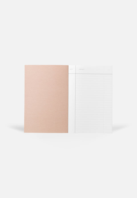 VITA Small Notebook — Bright Red, Lined Sheets