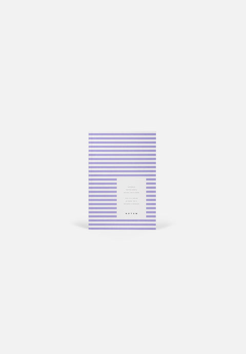 VITA Small Notebook — Lavender, Dotted Sheets