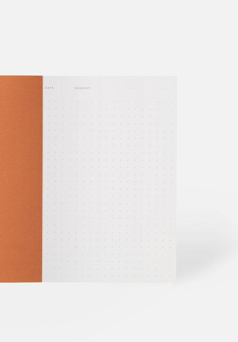 VITA Small Notebook — Bordeaux, Dotted Sheets
