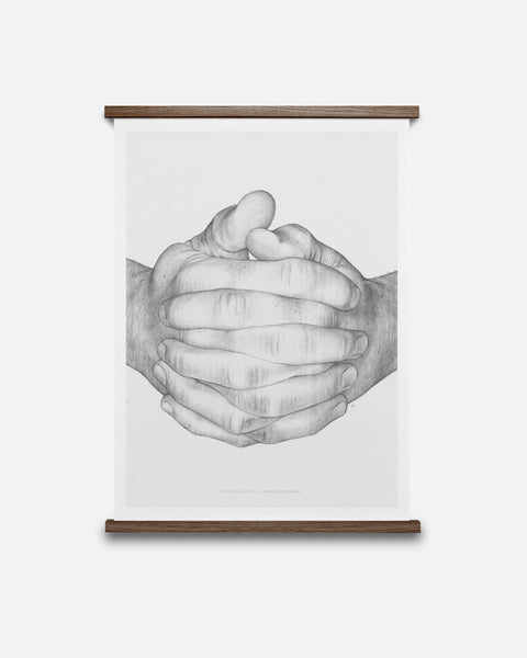 Folded Hands — Grey