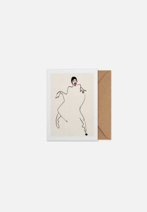 Dancer 02 — Greeting Card