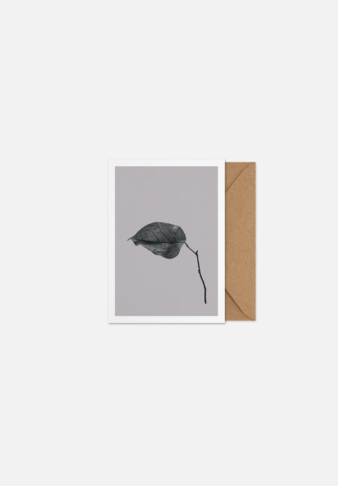 Sabi Leaf 03 — Greeting Card