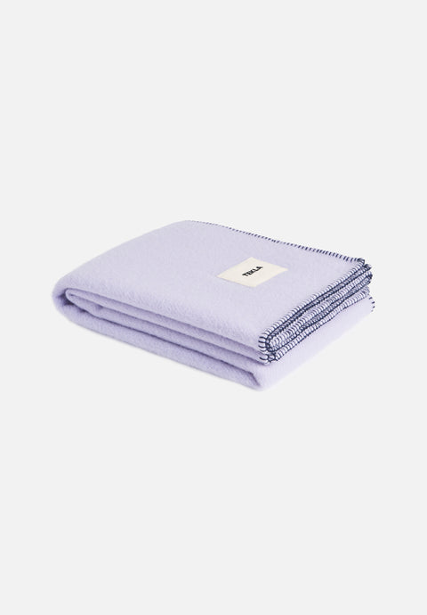 Wool Blanket — Soft Lavender