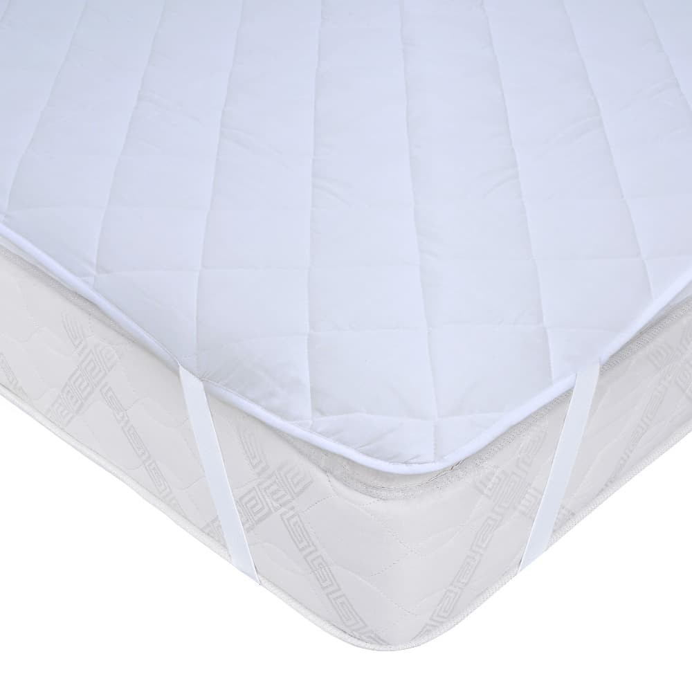 Cubrecolchón Impermeable King Blanco