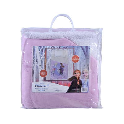 Frazada Polar Sherpa 150x200 Frozen Magic