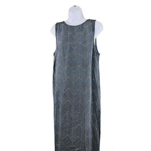 2NDDAY Womens Blue Print Maxi Dress Size UK14 RRP190 LY40
