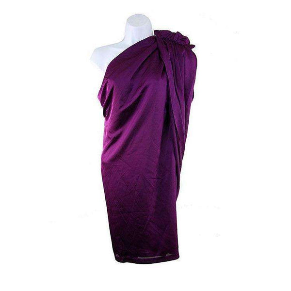 Almost Famous Womens Purple Asymmetric Top Size UK10 RRP115 LY40