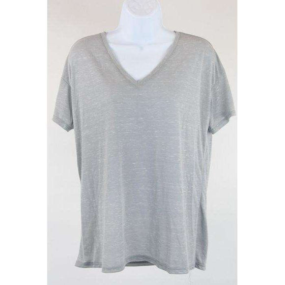 Bella Luxx Short Sleeve T Shirt Medium Grey Size M RRP70 COURT25