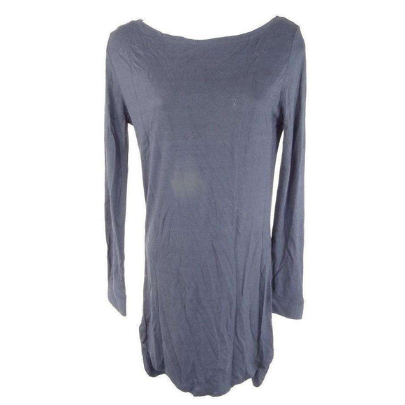 Chic Hangers Dark Blue Tunic Top Size XS RRP54 SLO14
