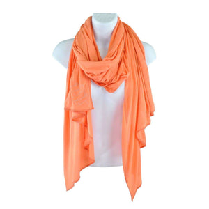 Esprit Orange Scarf One Size RRP50