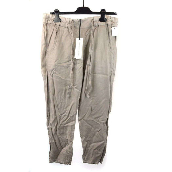 French Connection Classic Khaki Colour Trousers Size 12 RRP77 SHA-17