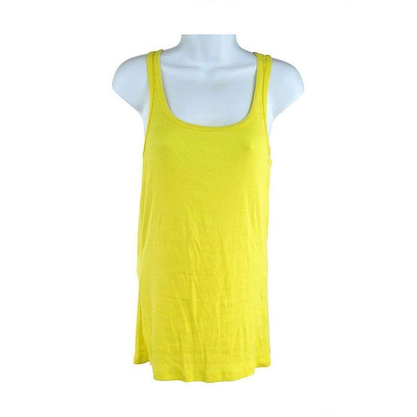H and M Basics Yellow Vest Top Size M SH03