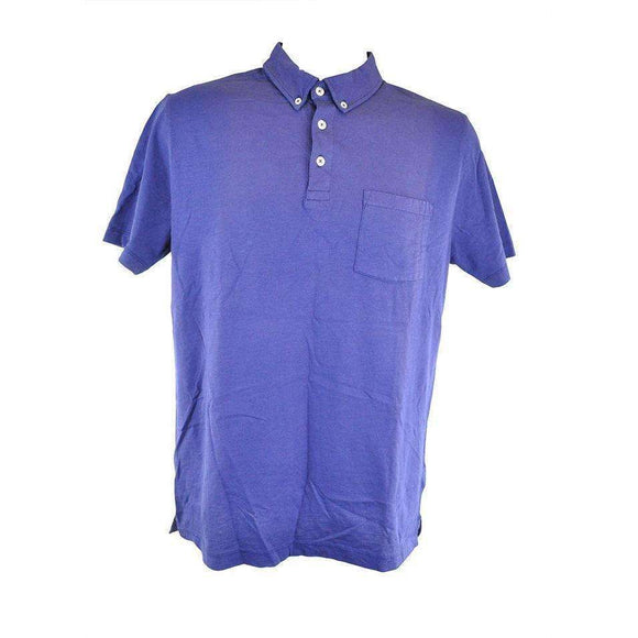 Hartford Purple Short Sleeve Polo Size S RRP70 P78