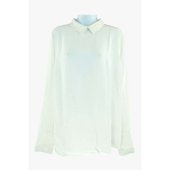 Just Female Garland Ivory Blouse Size M RRP75 LY27