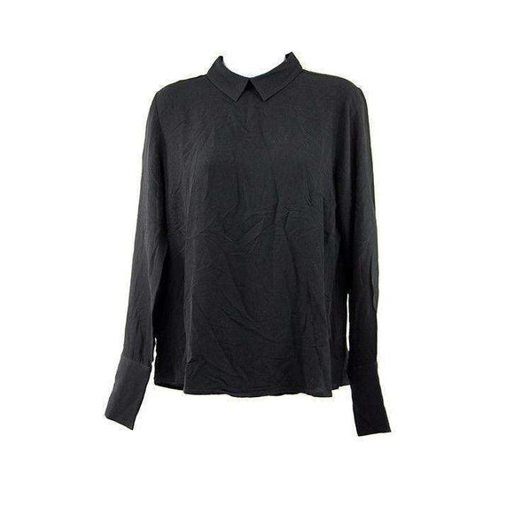 Just Female Womens Black Garland Blouse Size XS RRP75 LY42
