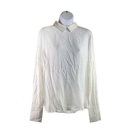 Just Female Womens White Garland Blouse Size S RRP75 LY42
