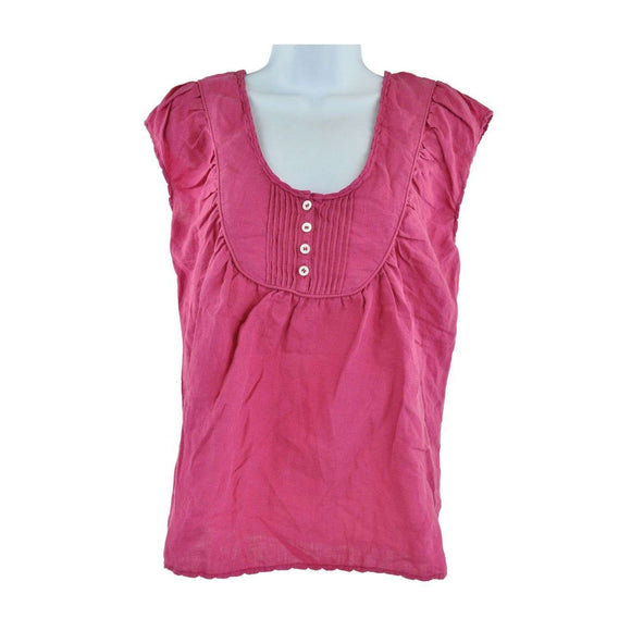 Nicole Farhi Pink Sleeveless Top Size 10 RRP115 LY27