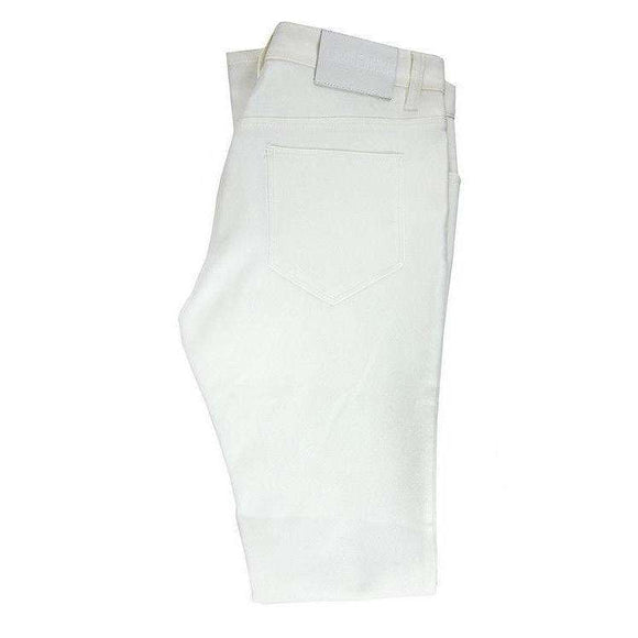 Nicole Farhi Womens White Polyester Trousers Size UK10 RRP190 LY36