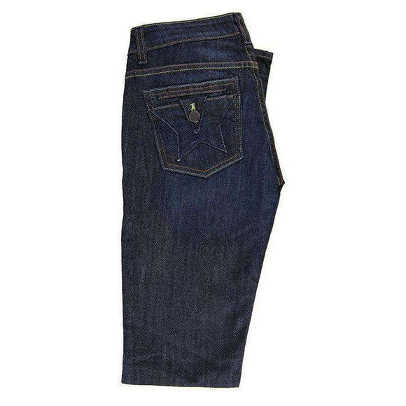 People Liberation Womens Dark Blue Jeans Size UK8 RRP65 LY33