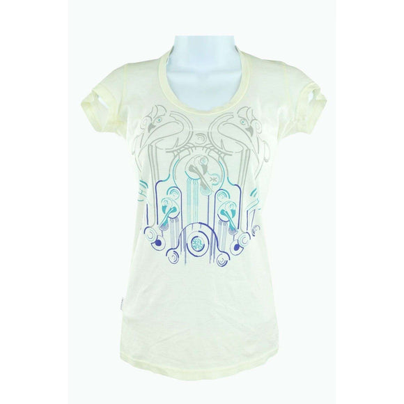 Sealkay Independent Cream T Shirt Size S RRP70 LY27