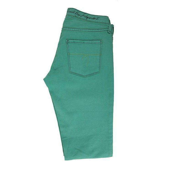 SealKay Womens Bright Green Jeans Size W27 RRP85 LY22