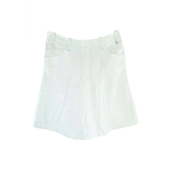 SealKay Womens White Short Skirt Size L RRP109 LY37