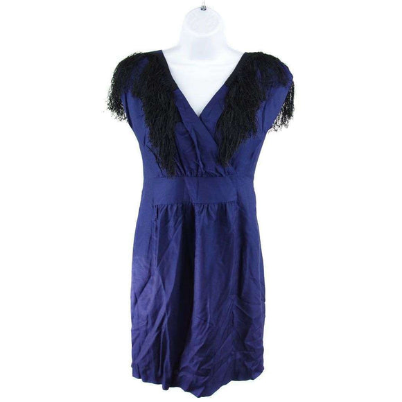 SteveJ and Yonip Dark Blue Dress Size S RRP375 SLO21