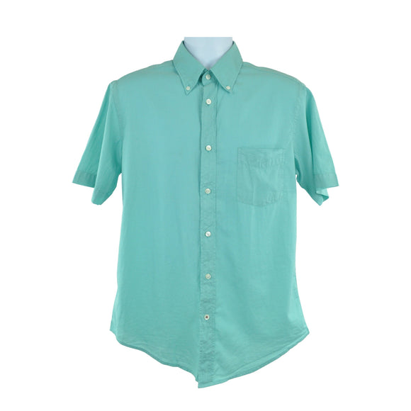 Hartford Green Classic Short Sleeve Shirt Size M RRP95 LY08