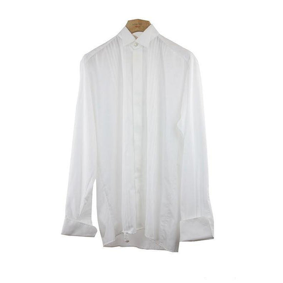 Eterna Excellent White Long Sleeve Dress Shirt Size 38 RRP80 PO07