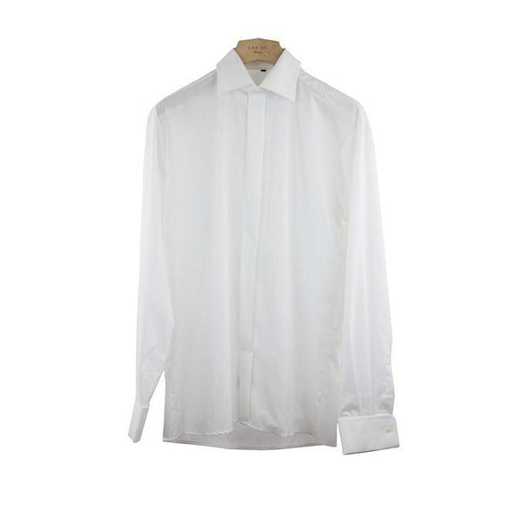 Eterna Excellent White Long Sleeve Shirt Size 48 RRP80 PO08