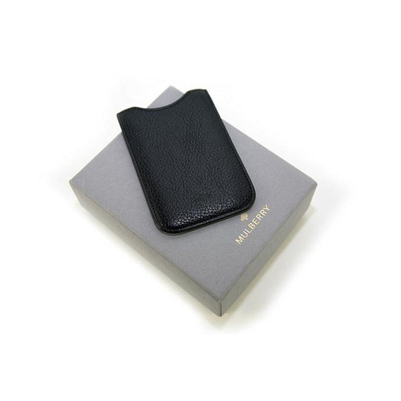 Mulberry Black Iphone 4 Case Boxed 8cmx12cm RRP80 PO11