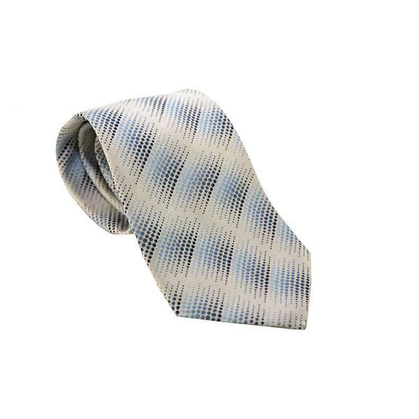 Anthony Exclusive Formal Wear Silk Blue Pattern Tie RRP50 PO10