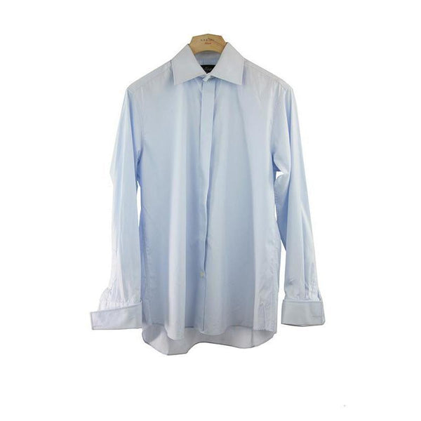 Anthony Formal Menswear Light Blue Shirt Size 41 RRP70 PO06