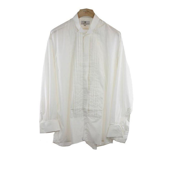 Frederick Theak Cream Colour Dress Shirt Size 48 RRP80 PO05